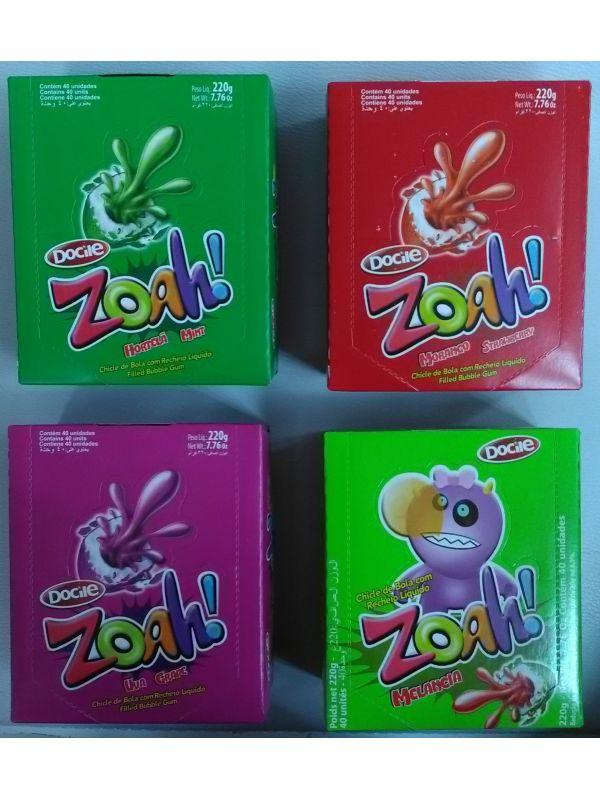 Caja x40 Chicles Zoah