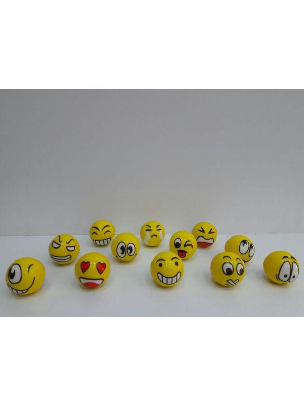 Pelota Emoticones x12
