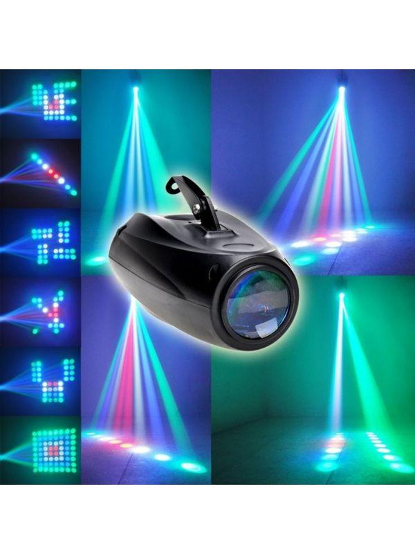 Luz laser redondo