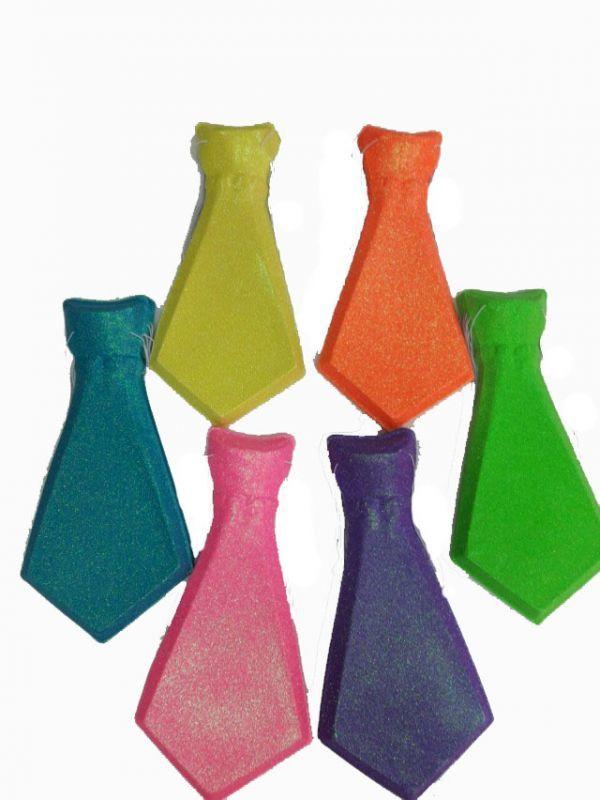 Corbata Con Brillantina x12