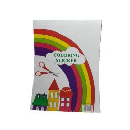 Libreta Sticker con brillantina