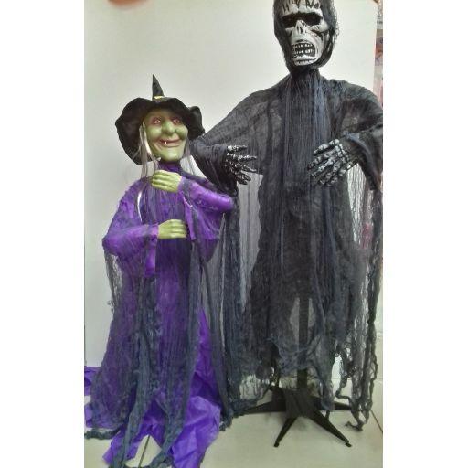 Halloween monstruo c/ movimiento y sonido