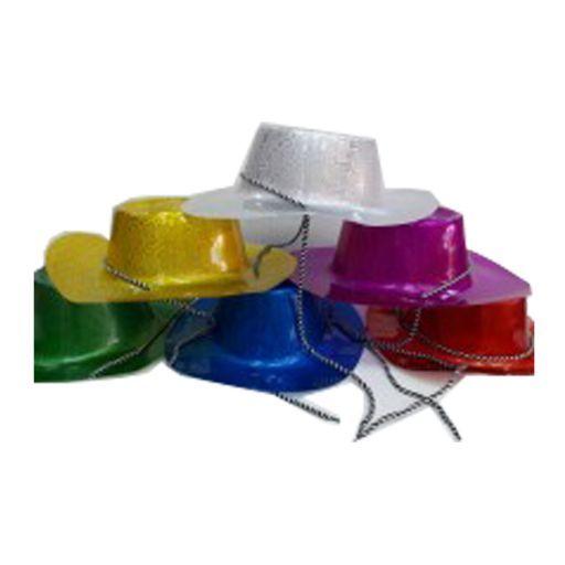Gorro Cowboy Plástico c/ cuerda