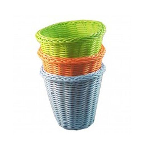 Canastitos Plásticos de Colores