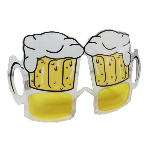 Lente jarra de cerveza