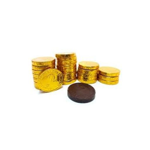 Monedas de chocolate $2