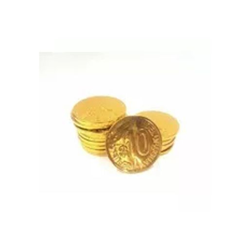 Monedas de chocolate $10