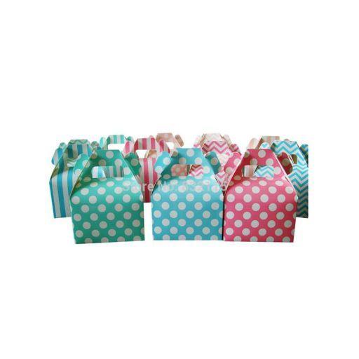 Cajas de regalo estampadas