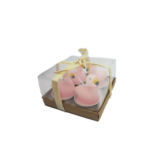 Velas Flamingo