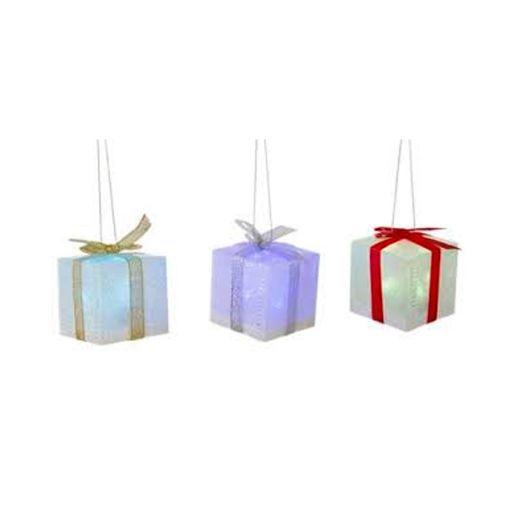 Caja de regalo con luz
