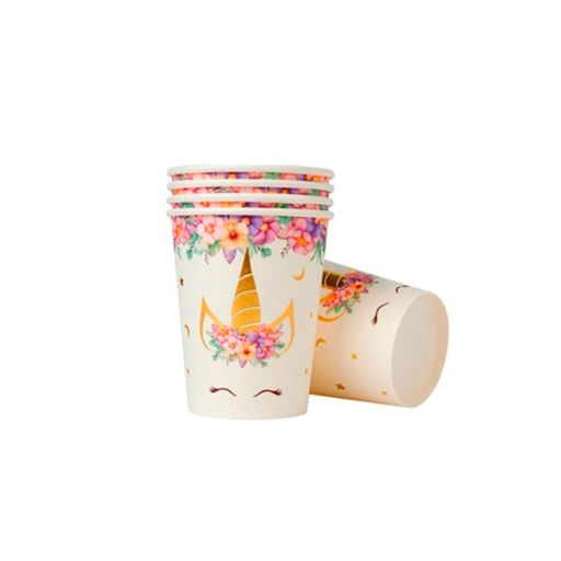 Vasos descartables Unicornio