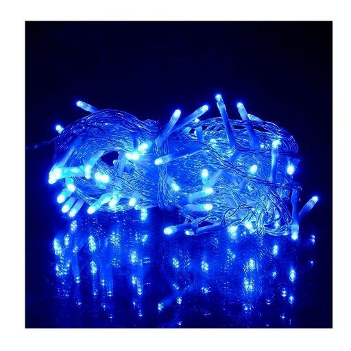 Guirnalda o Guia luces Arroz Azul