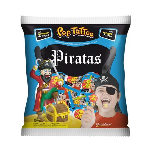 Chupetines Tattoo Pirata