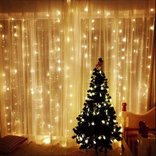 Cortina led 272 luces